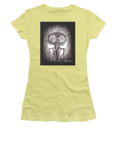 Fly Guy Women's T-Shirt (Junior Cut) by Christophe Ennis