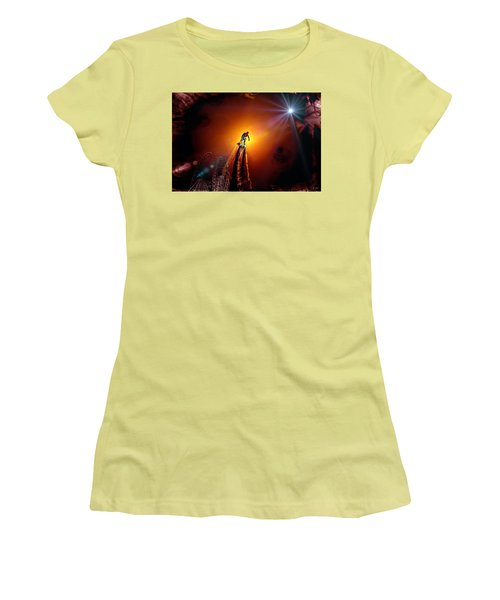 Flyboard  1 Women's T-Shirt (Athletic Fit)