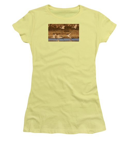 Flying Out Women's T-Shirt (Athletic Fit)