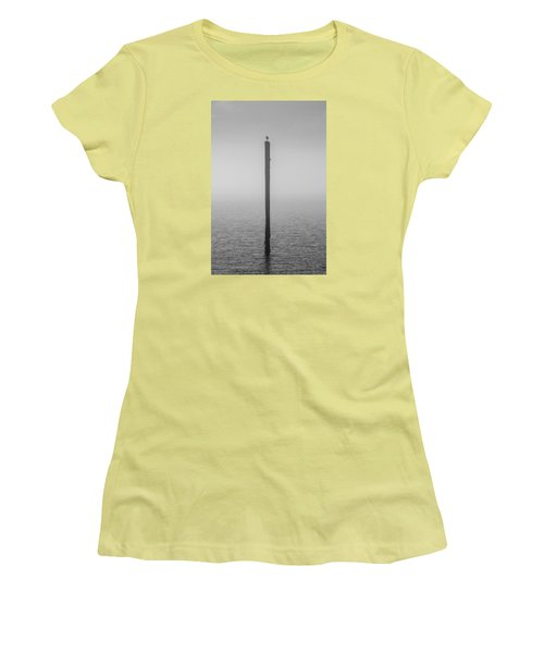 Fog On The Cape Fear River Women's T-Shirt (Athletic Fit)