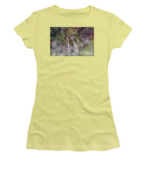 Fog Rolling In Women's T-Shirt (Junior Cut) by Joan Bertucci