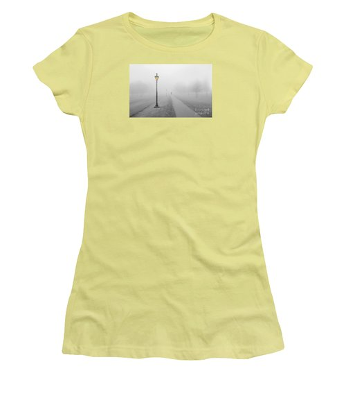 Foggy Day In France Women's T-Shirt (Junior Cut) by Jim  Hatch