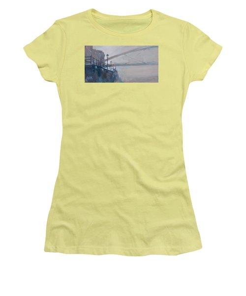 Foggy Hoeg Women's T-Shirt (Junior Cut) by Nop Briex