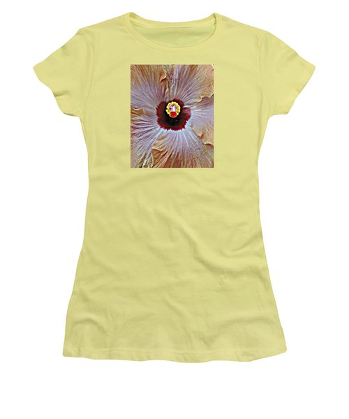 Folding Petals Women's T-Shirt (Athletic Fit)