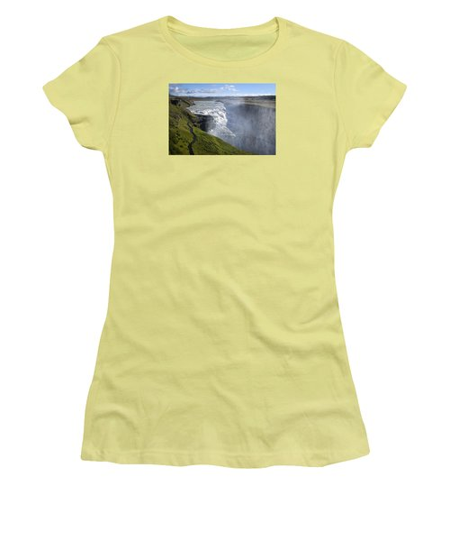 Follow Life's Path Women's T-Shirt (Junior Cut) by Lucinda Walter