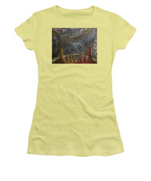 Follow Women's T-Shirt (Junior Cut) by Steve  Hester