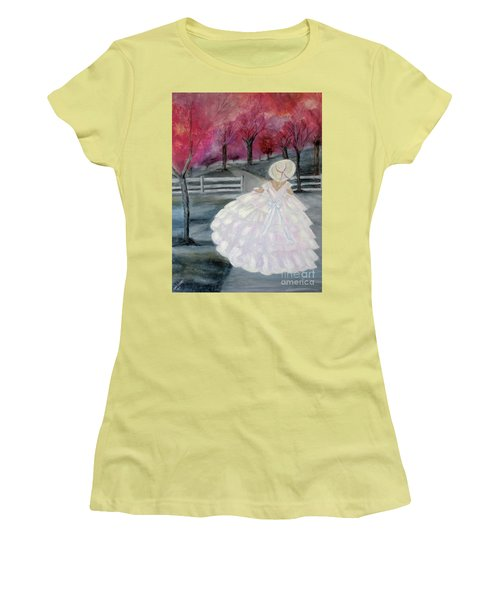 Follow Your Dreams Women's T-Shirt (Athletic Fit)