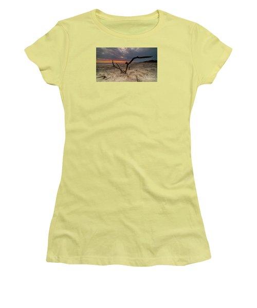 Sun Dragon  Women's T-Shirt (Junior Cut) by Robert Loe