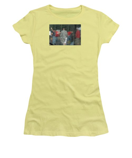 For My Country Women's T-Shirt (Junior Cut) by Carolyn Marshall