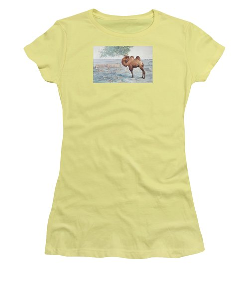 Foraging Women's T-Shirt (Athletic Fit)