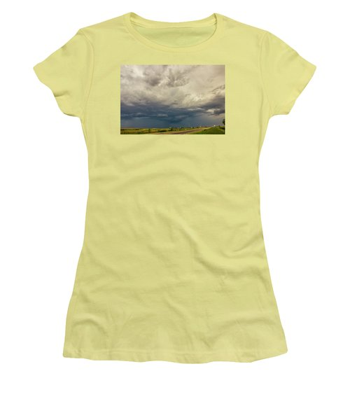 Forces Of Nebraska Nature 002 Women's T-Shirt (Athletic Fit)