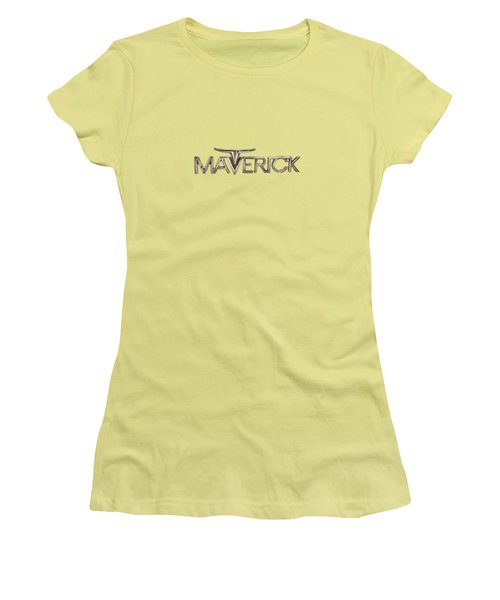 Ford Maverick Badge Women's T-Shirt (Junior Cut)