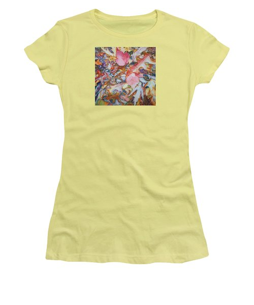 Forest Floor Tapestry Women's T-Shirt (Athletic Fit)