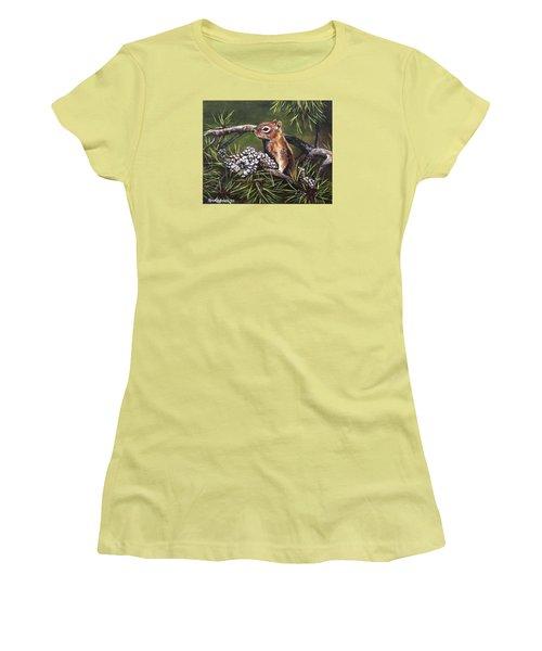 Forest Friend Women's T-Shirt (Junior Cut) by Kim Lockman