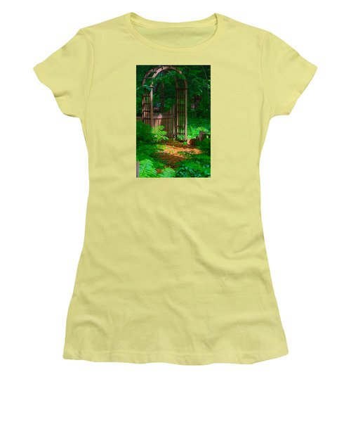 Forest Gateway Women's T-Shirt (Athletic Fit)