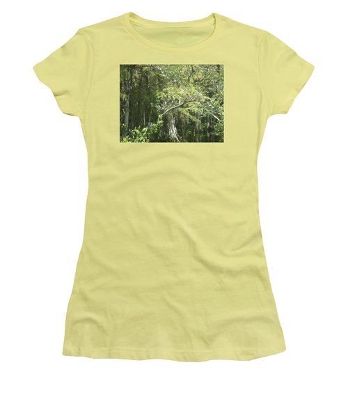 Forest On A Swamp Women's T-Shirt (Athletic Fit)