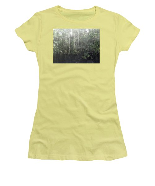 Forest, Sun Swamp Women's T-Shirt (Athletic Fit)