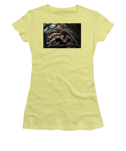 Forest Witch Women's T-Shirt (Athletic Fit)