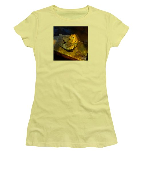 Women's T-Shirt (Athletic Fit) featuring the photograph Forever Autumn by LemonArt Photography