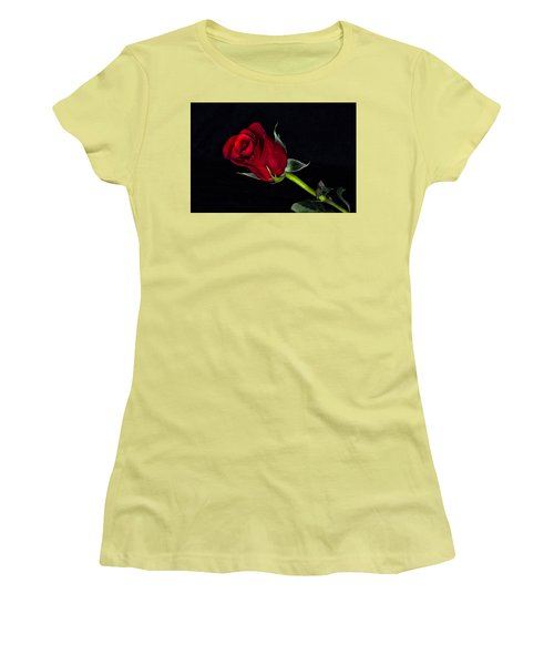 Forever Lasting Rose  Women's T-Shirt (Athletic Fit)