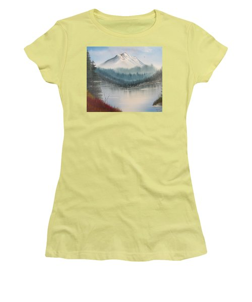 Fork In The River Women's T-Shirt (Athletic Fit)