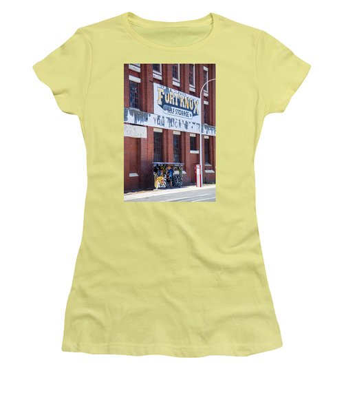 Women's T-Shirt (Junior Cut) featuring the photograph Fort Knox by Serene Maisey