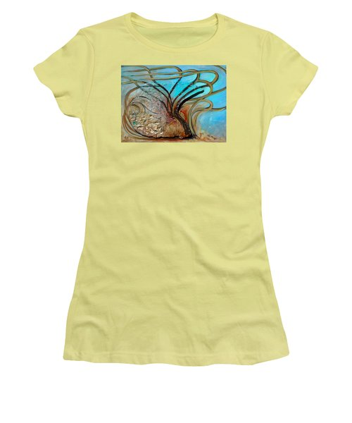 Fossil In The Deep Women's T-Shirt (Athletic Fit)