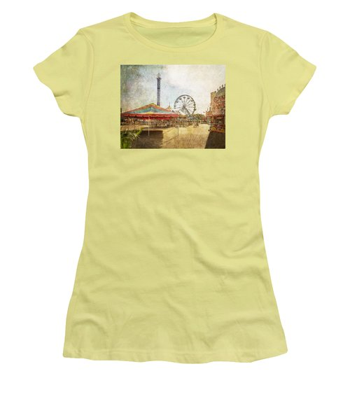 The Ferris Wheel Women's T-Shirt (Athletic Fit)