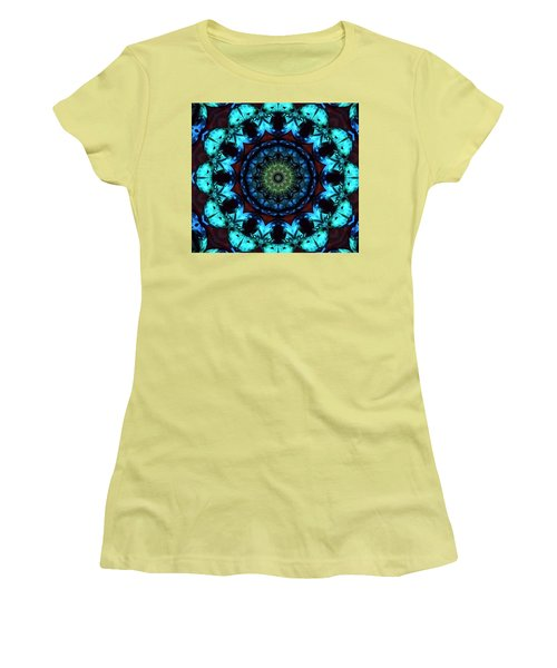 Fractal 2 Women's T-Shirt (Athletic Fit)