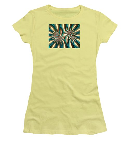 Fractal Landscape Vi Women's T-Shirt (Athletic Fit)