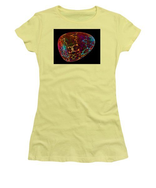 Fractal Object 001 Women's T-Shirt (Junior Cut) by Ernst Dittmar