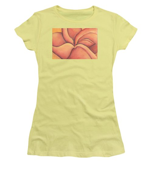 Frangipani Women's T-Shirt (Athletic Fit)