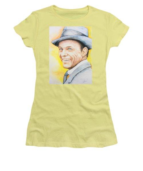Frank Sinatra Women's T-Shirt (Athletic Fit)