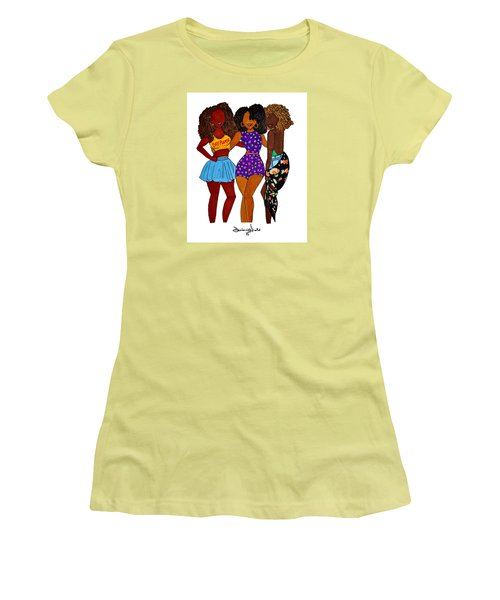 Franz Women's T-Shirt (Junior Cut) by Diamin Nicole