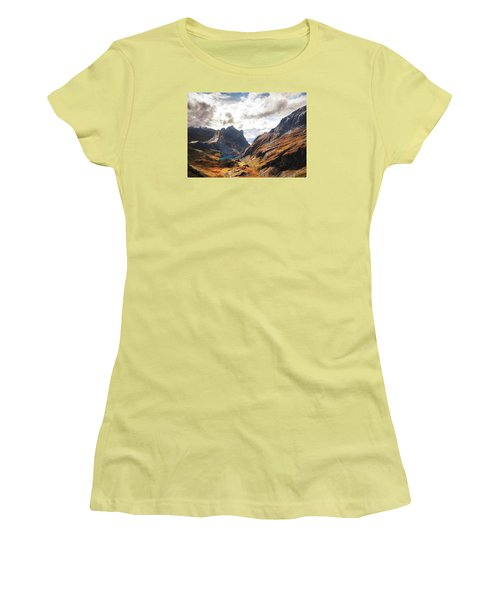 French Alps Women's T-Shirt (Athletic Fit)