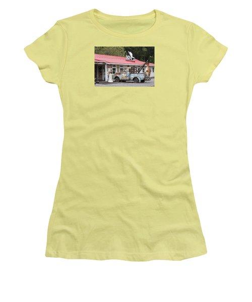 Fresh Fish II Women's T-Shirt (Junior Cut) by Suzanne Gaff