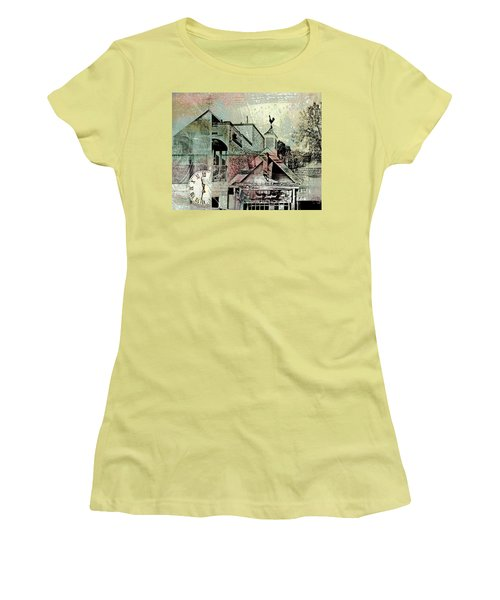 Women's T-Shirt (Junior Cut) featuring the photograph Fresh Seafood by Susan Stone