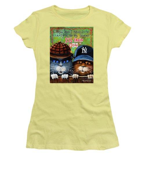 Friends Women's T-Shirt (Junior Cut) by Igor Postash