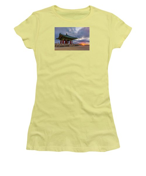 Friendship Women's T-Shirt (Junior Cut) by Tassanee Angiolillo