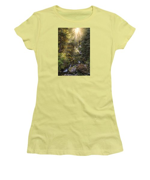 From Above Women's T-Shirt (Athletic Fit)