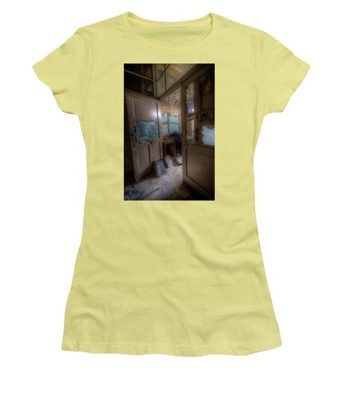 Women's T-Shirt (Junior Cut) featuring the digital art From Darkness by Nathan Wright