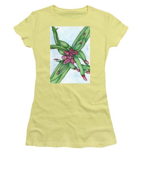 From My Garden 3 Women's T-Shirt (Junior Cut) by Versel Reid