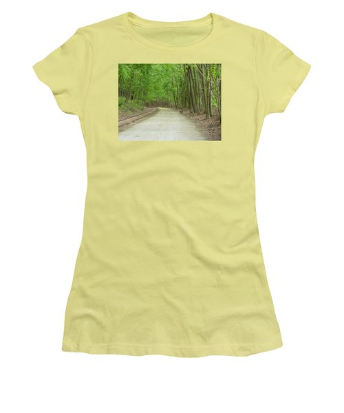 From The Summit Women's T-Shirt (Junior Cut) by Donald C Morgan