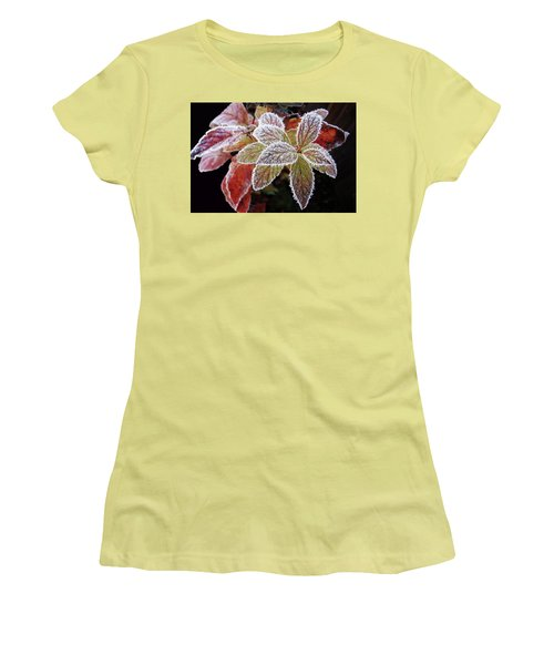 Frost Cluster Women's T-Shirt (Athletic Fit)