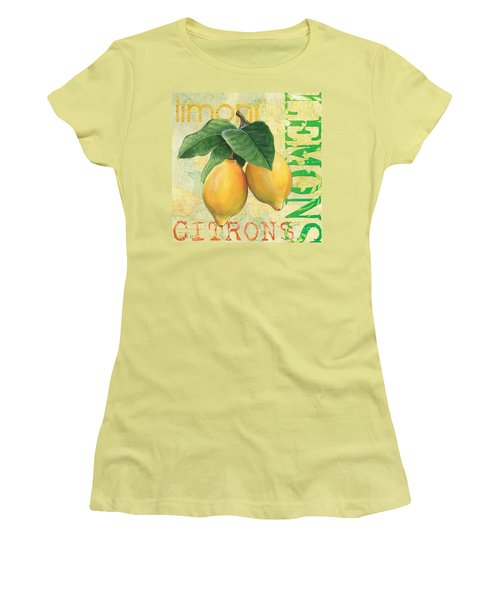 Froyo Lemon Women's T-Shirt (Athletic Fit)