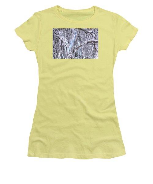 Frozen Falls Women's T-Shirt (Athletic Fit)