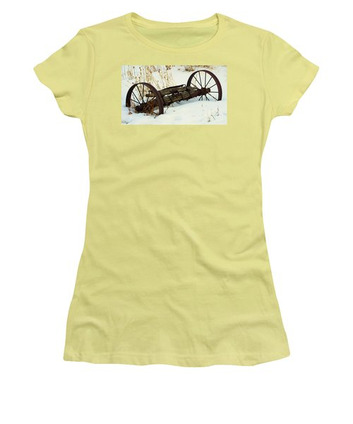 Frozen In Time Women's T-Shirt (Junior Cut)