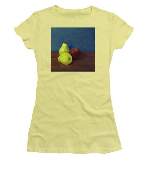 Fruit On A Table Women's T-Shirt (Junior Cut)