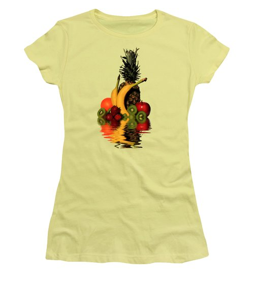 Fruity Reflections - Medium Women's T-Shirt (Junior Cut) by Shane Bechler