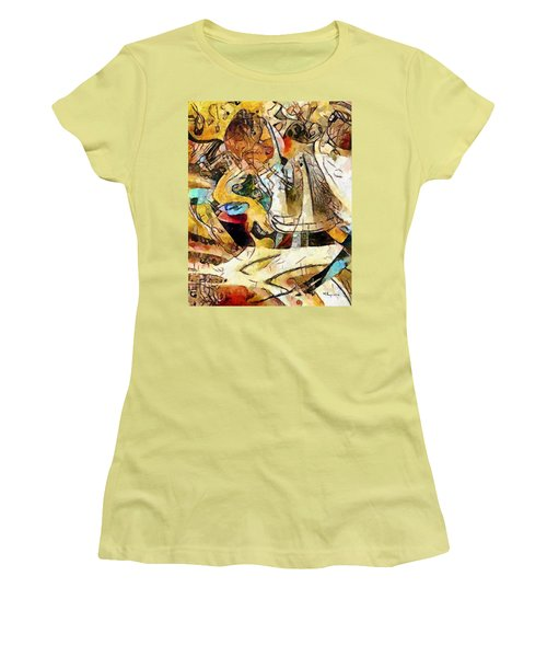 Funky Tune Time Women's T-Shirt (Athletic Fit)
